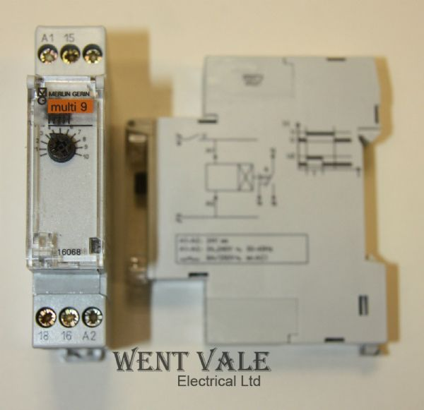 Merlin Gerin Multi 9 - 16068 RTH Time Delay Device delay before OFF after energisation New